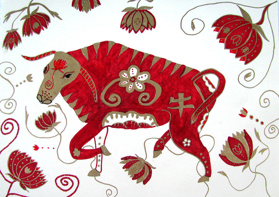 banner stock Chinese Year Of The Ox