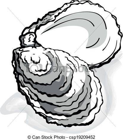 png transparent library  collection of shell. Oyster clipart.