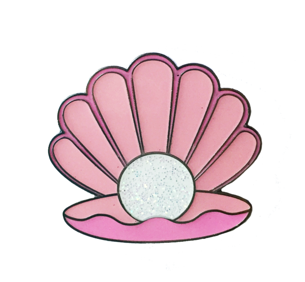 jpg freeuse Pink pin miette. Oyster clipart