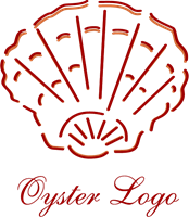 graphic library Art logo ai free. Oyster vector