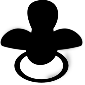 banner transparent Totote Black Clip Art at Clker