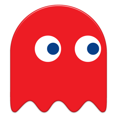picture stock Free download red ghost. Pacman clipart