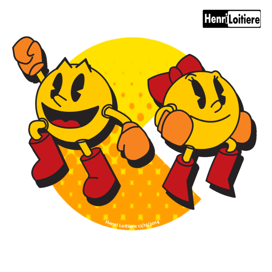 clip art royalty free Pacman And Ms