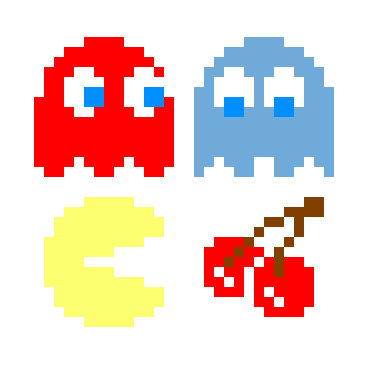 jpg freeuse library pixel vector pacman #101371100