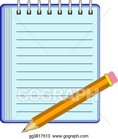 jpg free Note stock illustration gg. Pad clipart