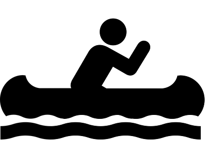 svg library Collection of free Vector canoe rowing boat