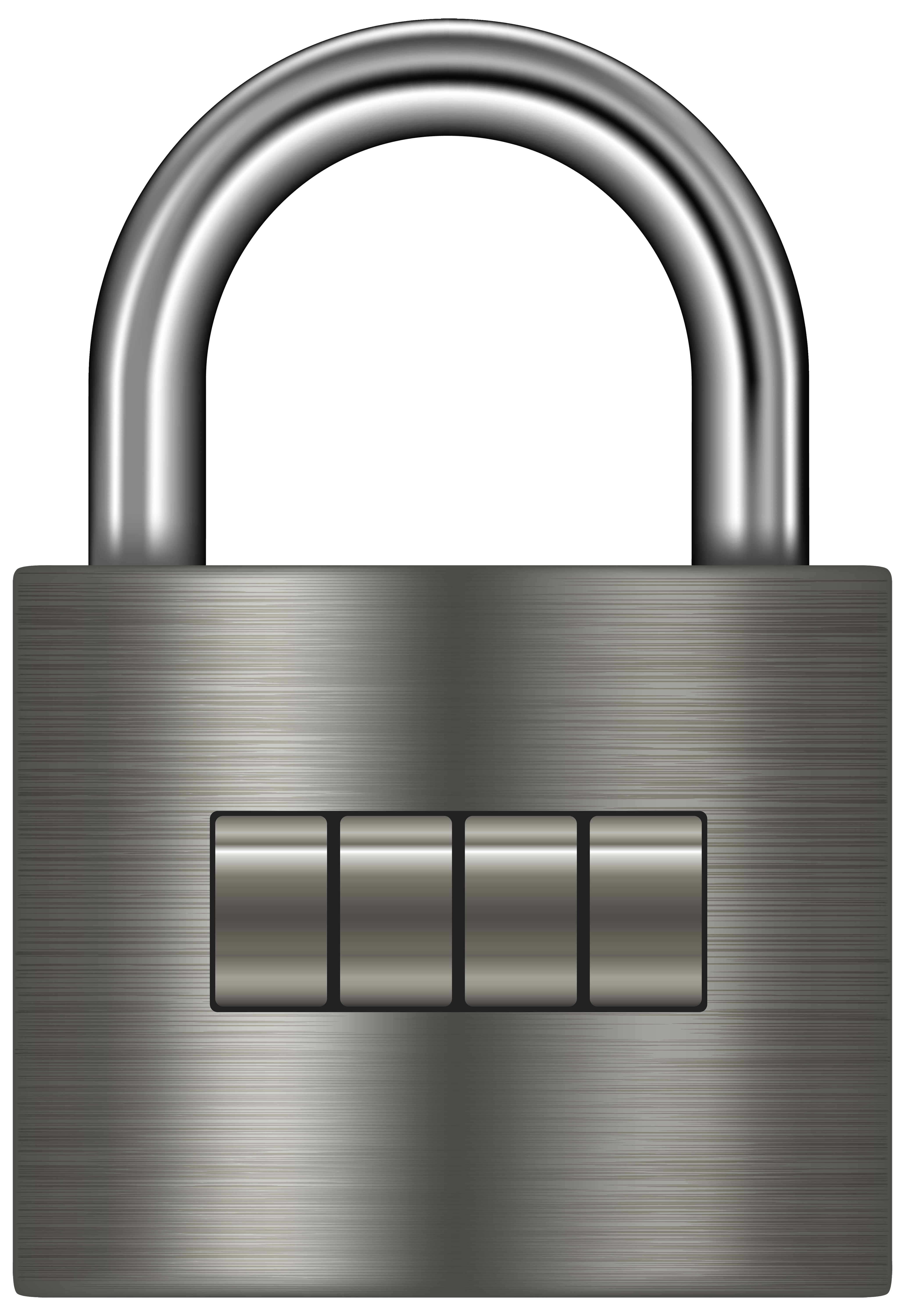 png royalty free download Silver png clip art. Padlock clipart