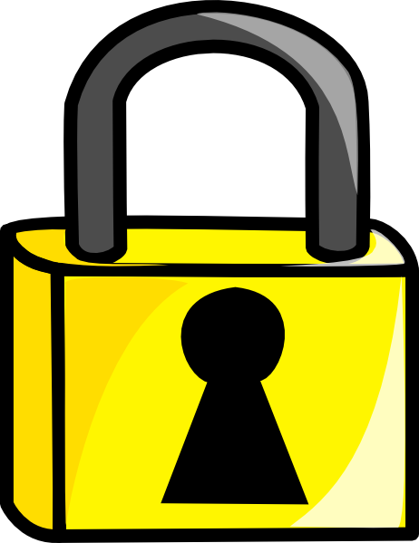 clip royalty free stock Lock clipart