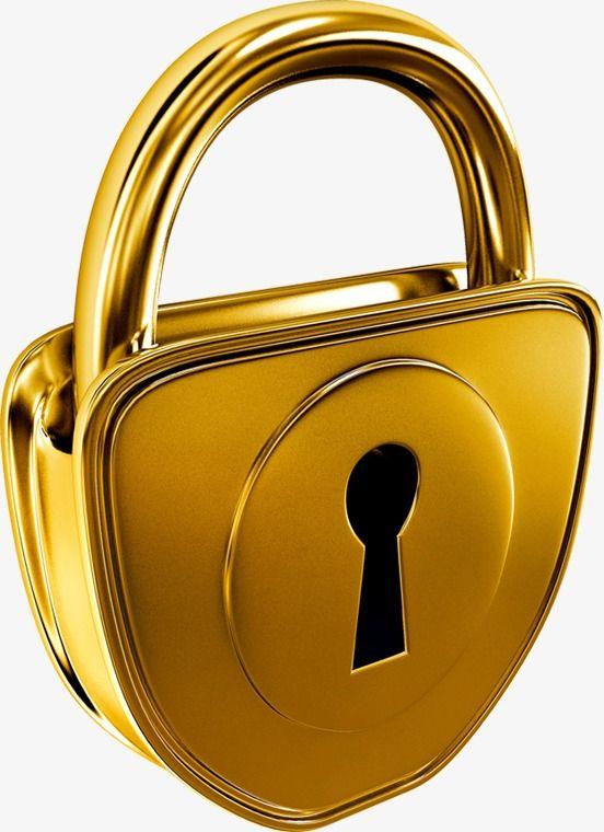 png free download Lock locks png transparent. Padlock clipart golden