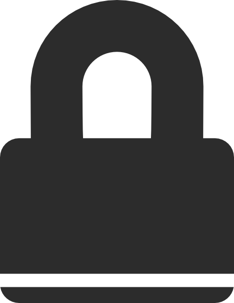 vector free download Padlock Icon Clip Art at Clker