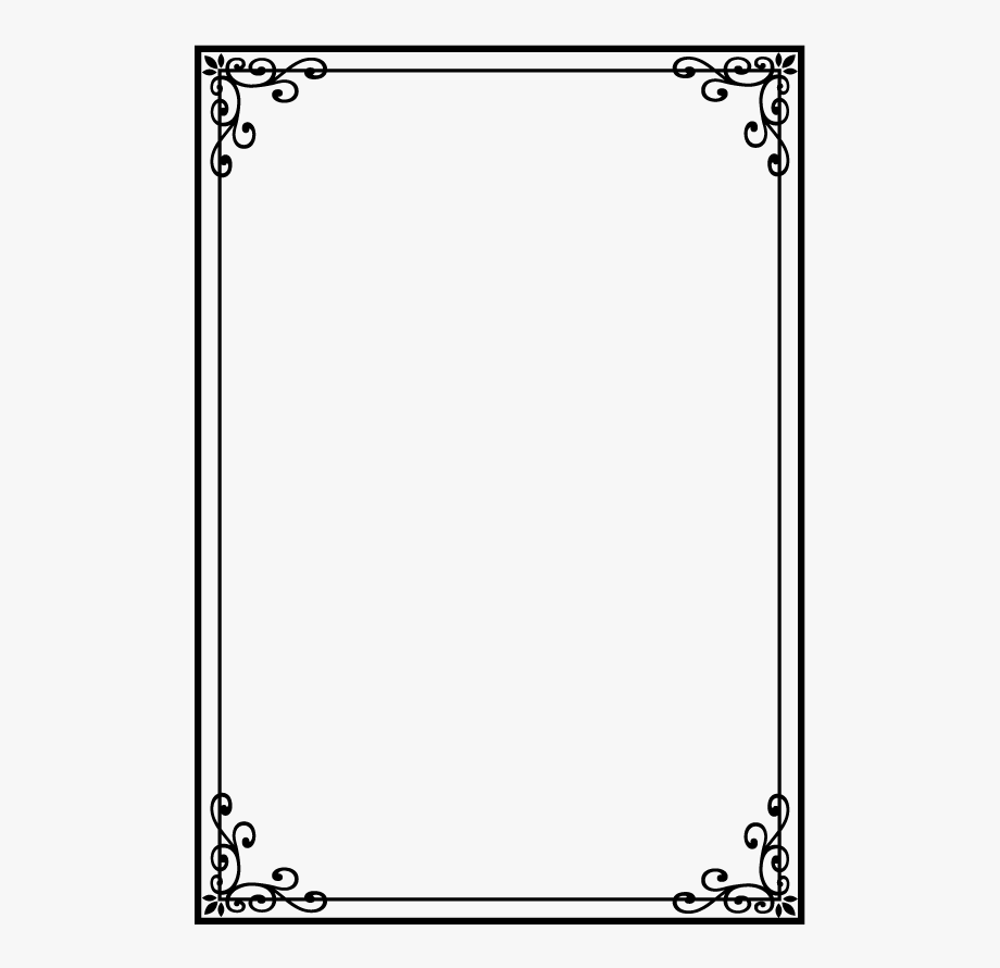 png library stock  design border. Page borders clipart