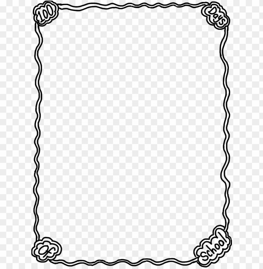 freeuse School library th day. Page borders clipart