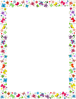 vector royalty free library Free cliparts download clip. Spring clipart borders