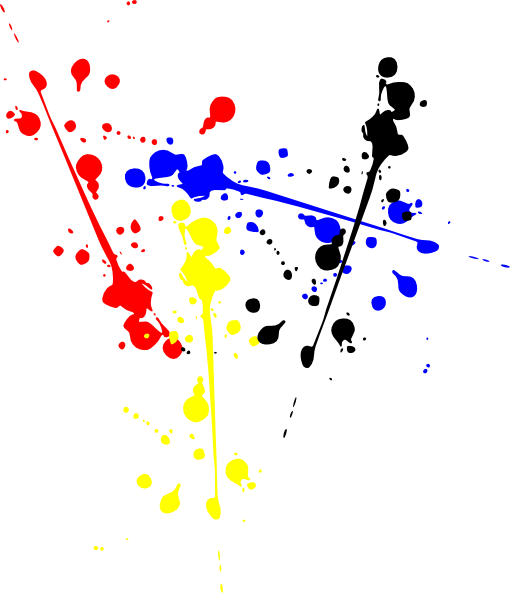 freeuse Vector color colour. Paint clip art holi