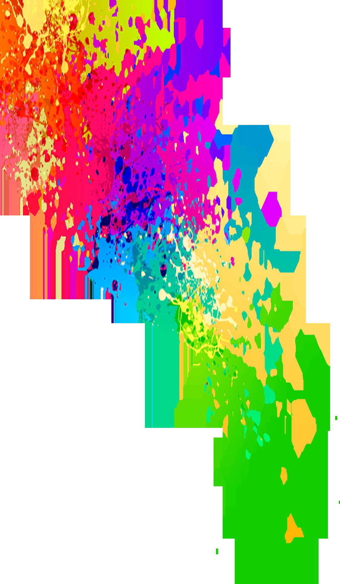 clipart free download  paint color png. Transparent splash neon