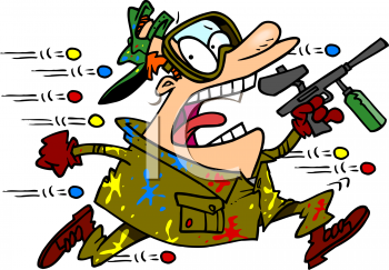 graphic freeuse library Free animated clip art. Paintball clipart