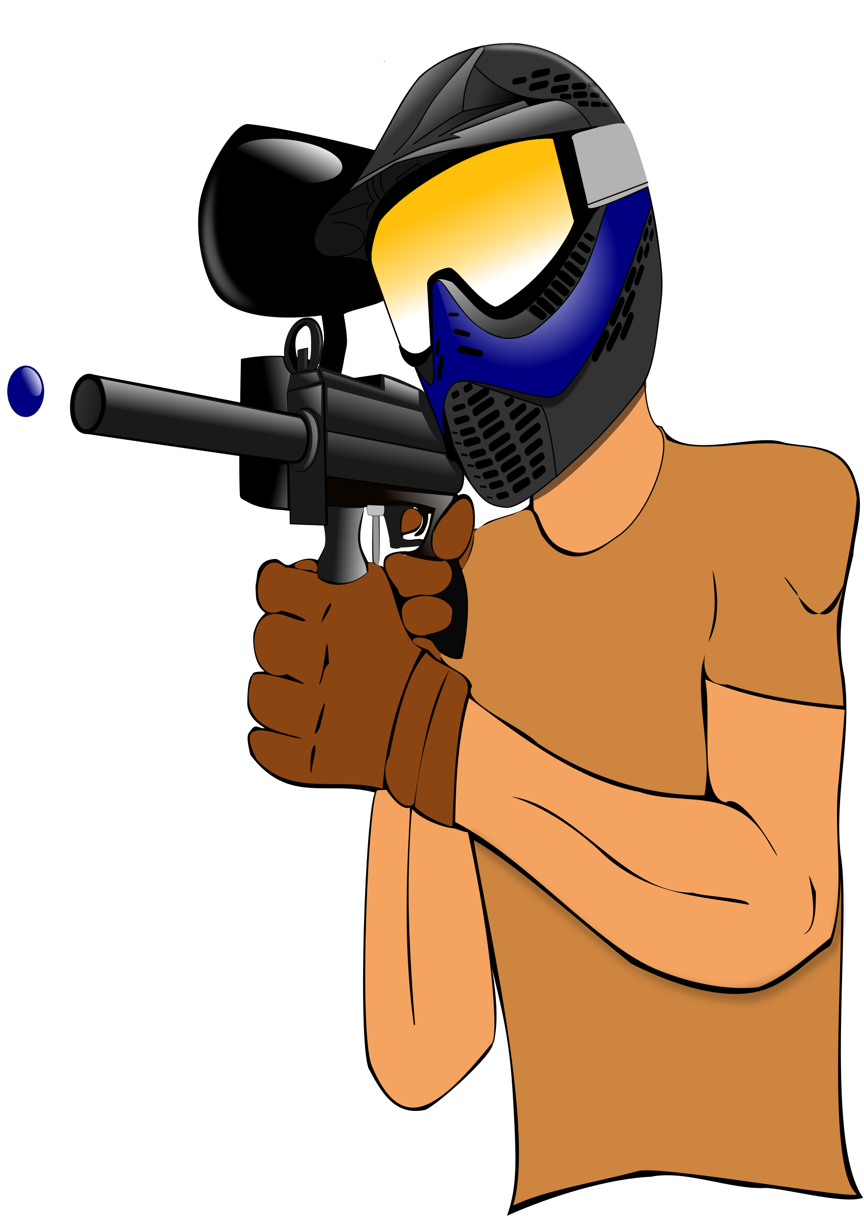 clip royalty free stock . Paintball clipart