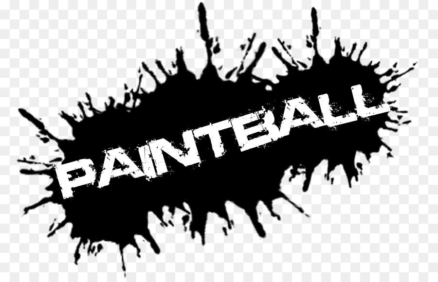 picture transparent download Paintball clipart transparent. White background black text.