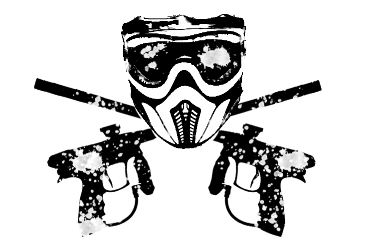 picture black and white stock Guns t shirt kingman. Paintball clipart transparent.
