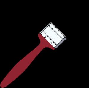 clipart black and white Paintbrush clipart. Paint brush clip art