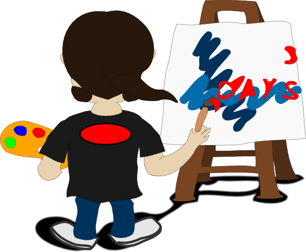svg free library Painting clipart animated