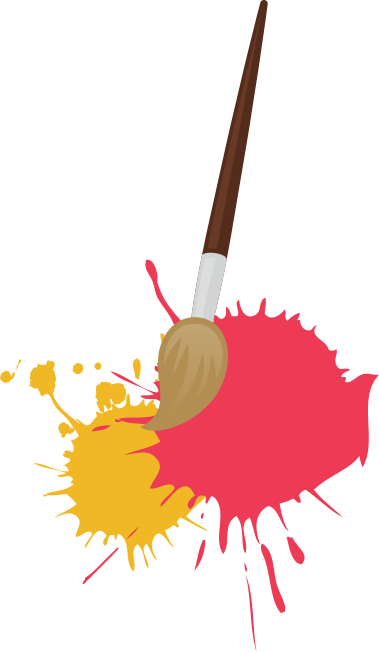 graphic library Paint Brush Clipart pottery painting