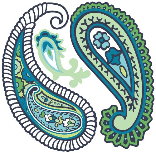 svg freeuse Paisley clipart. Free cliparts download clip
