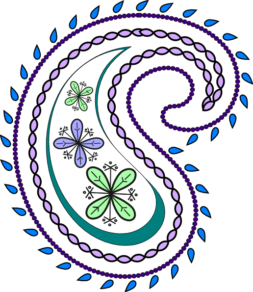 png royalty free stock Paisley clipart. Free
