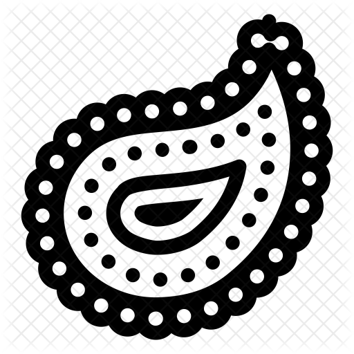 graphic royalty free stock Paisley Icon