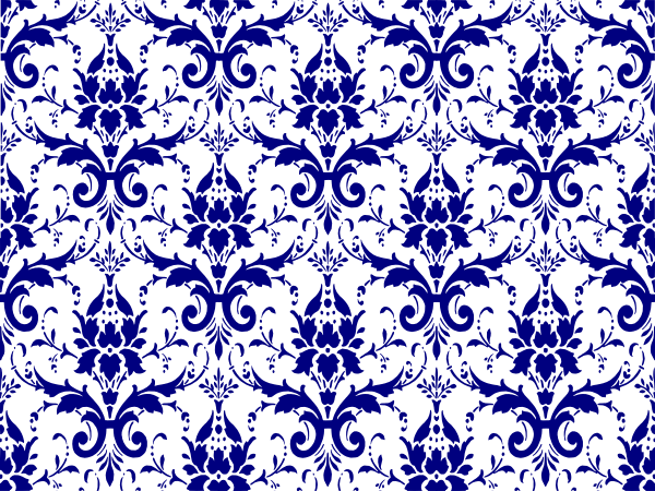 vector black and white Royal Blue Damask Wallpaper image gallery