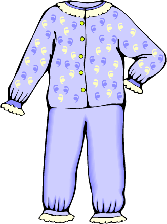 clipart free download Ideal pajamas suggest kayak. Pajama clipart
