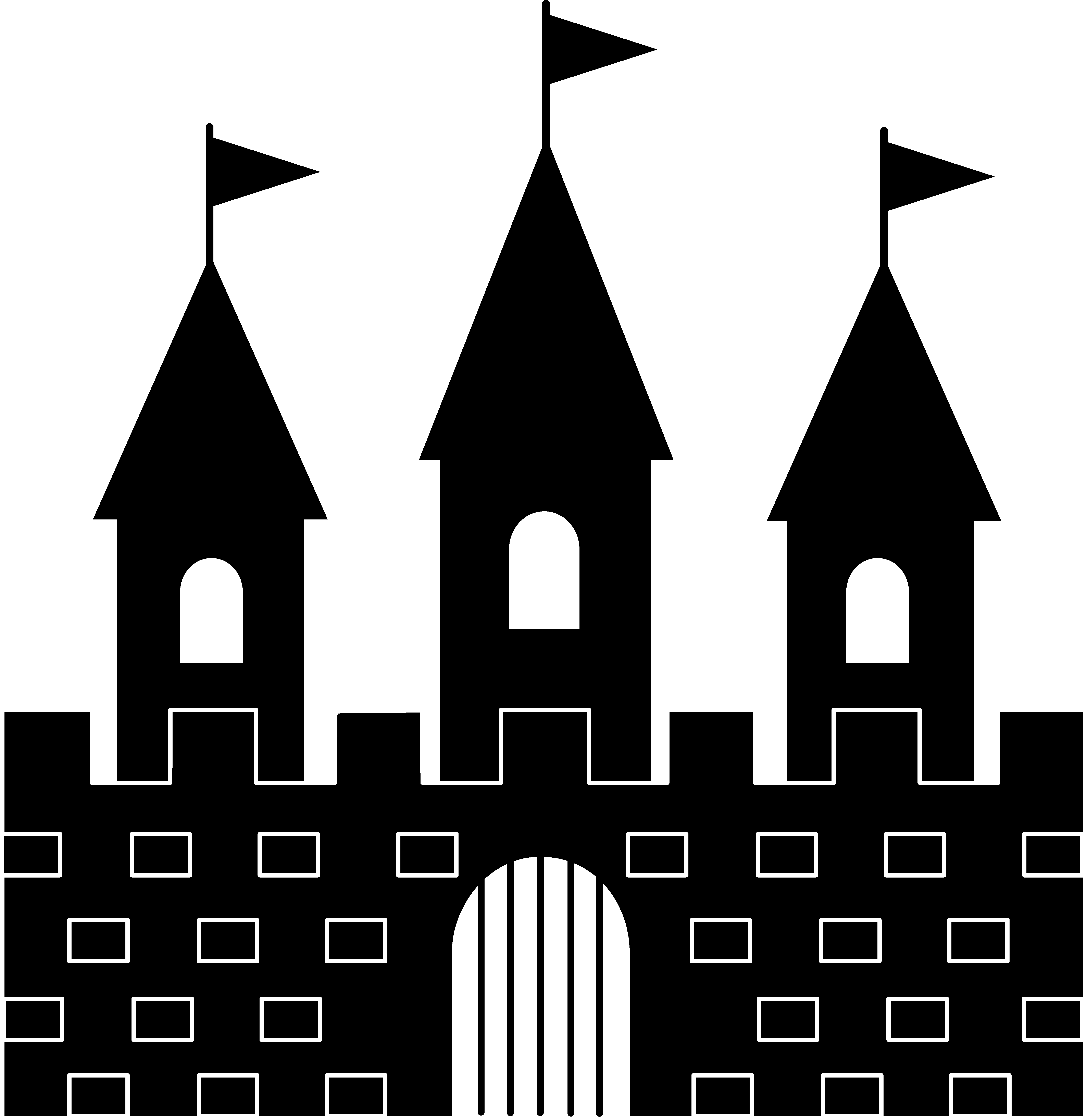 clipart transparent drawing castles fortress #93755746