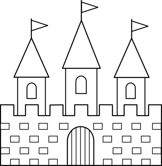 picture transparent stock  collection of castle. Spotlight clipart black and white