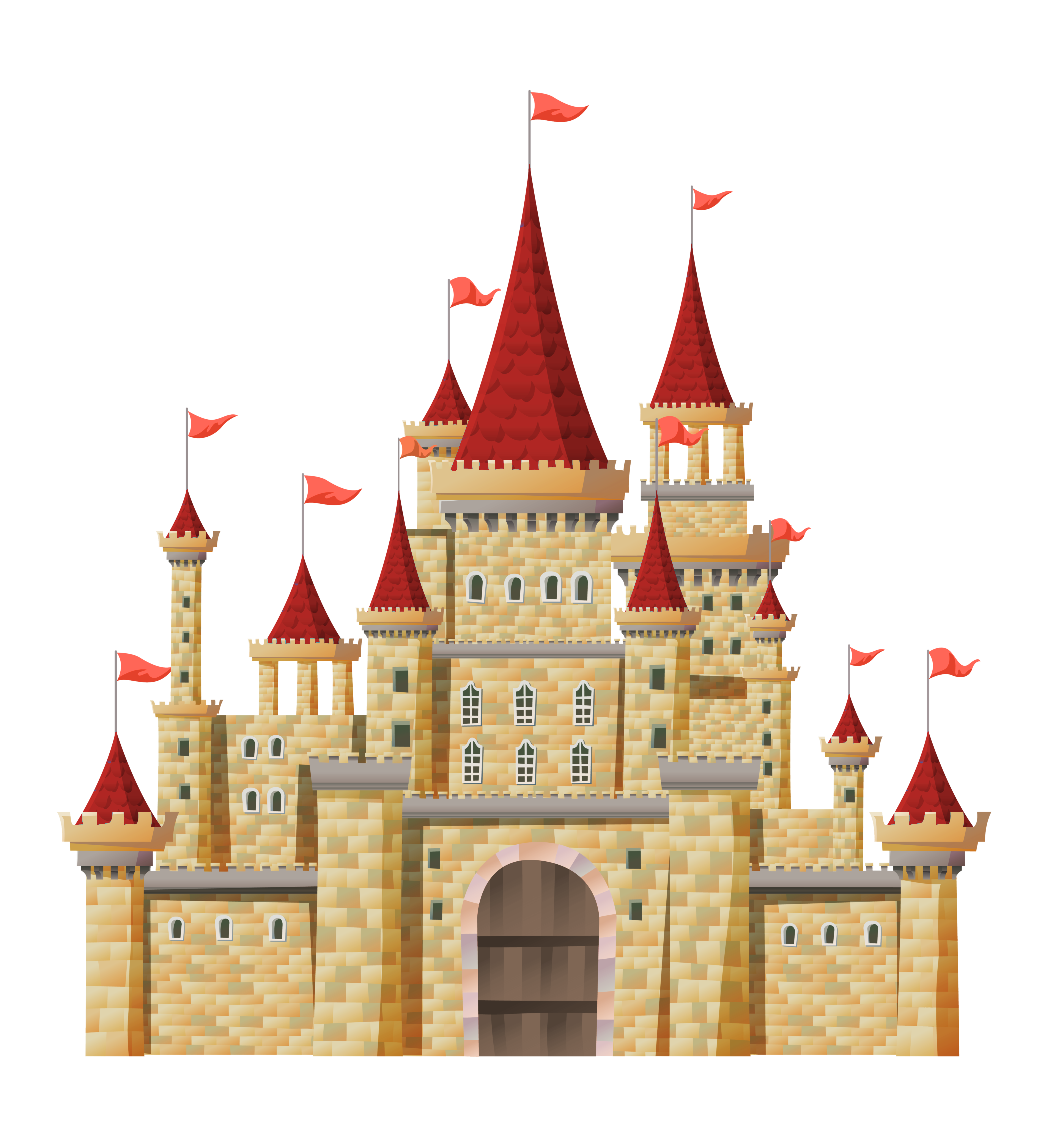 jpg free stock Png clipart gallery yopriceville. Castle transparent