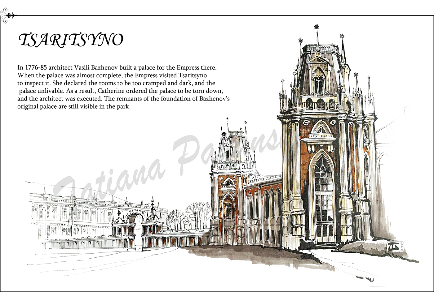 clip art black and white download Palace drawing greek. My moscow tsarytsyno park