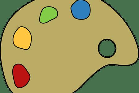 picture free library Paint clip . Art palette clipart.
