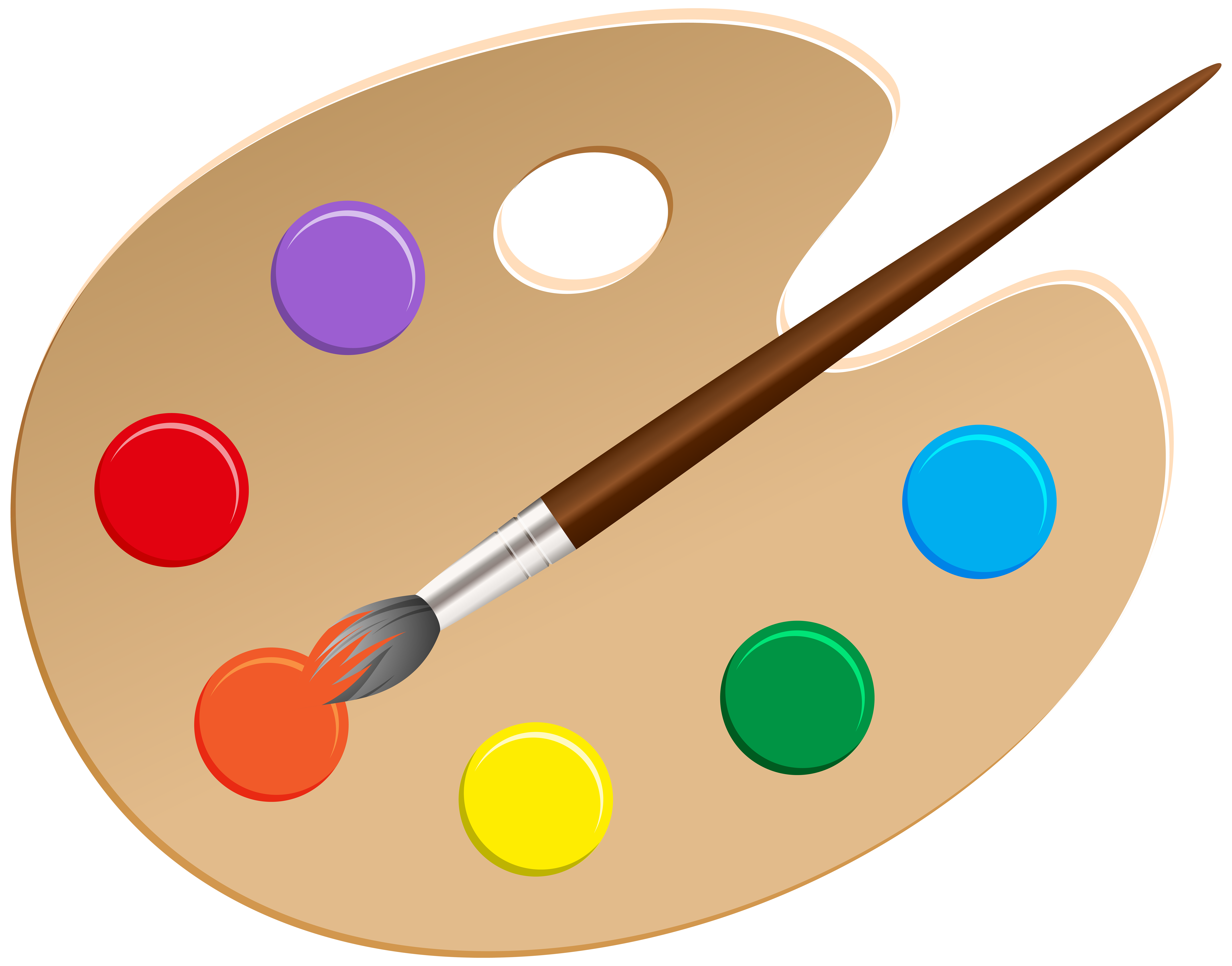 clipart free stock Artist png clip gallery. Art palette clipart.