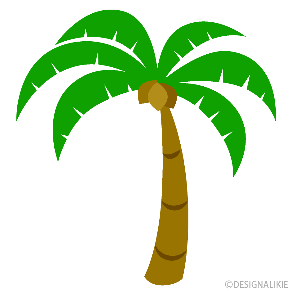 jpg black and white Palm clipart. Simple tree free picture.