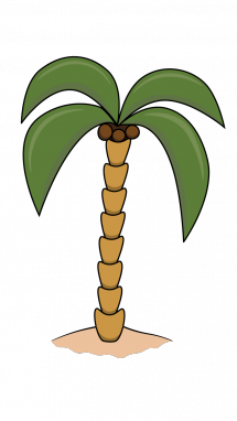 banner royalty free stock Drawn Palm Tree easy draw