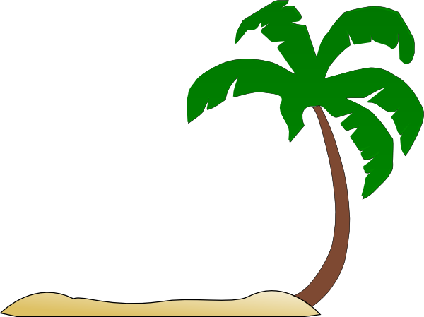 picture library download Palm Tree Sunset Clipart