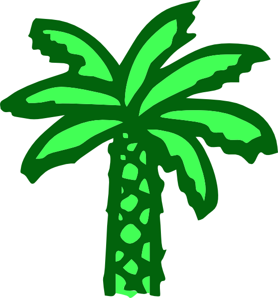 black and white stock Palm Tree Leaves Clipart at GetDrawings