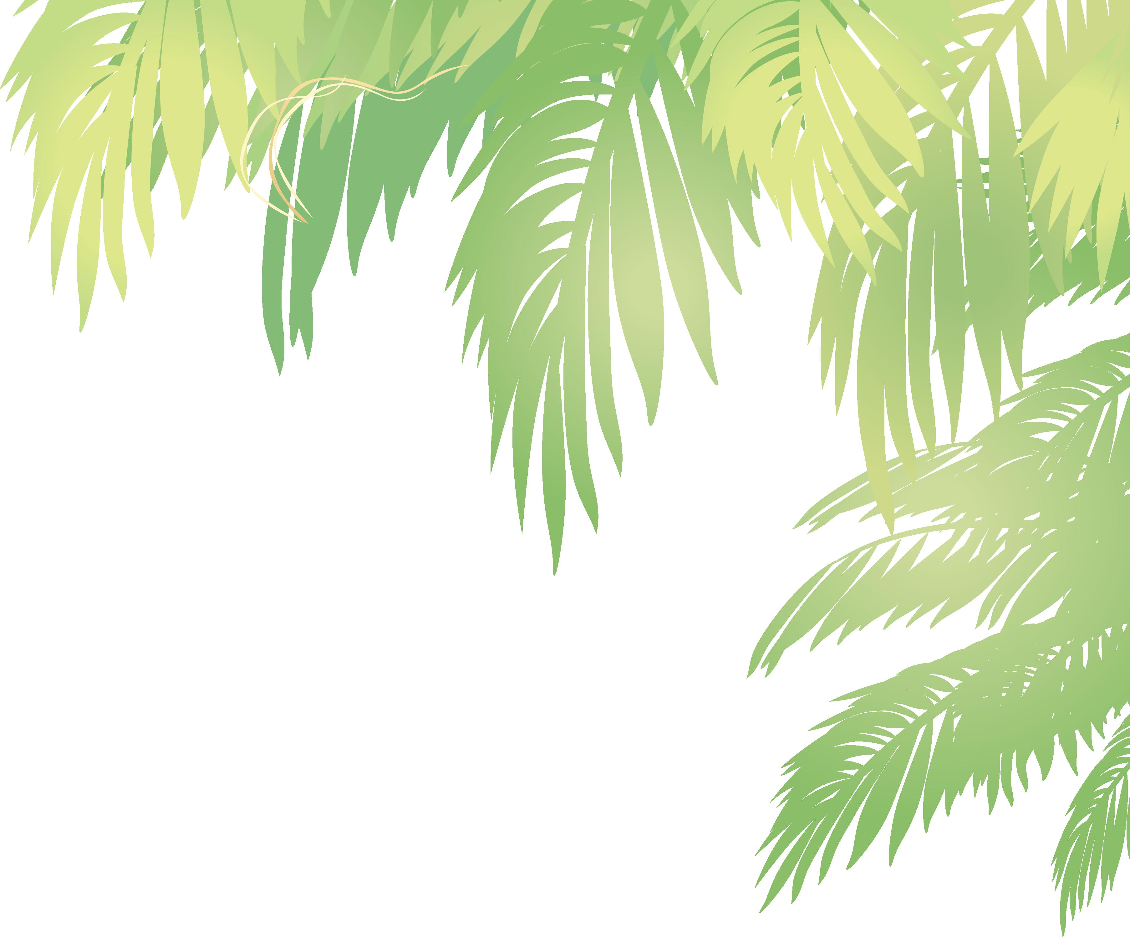 clip art free library Arecaceae Leaf Euclidean vector Coconut
