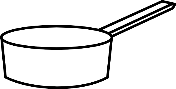 clipart library stock Sauce Pan Clip Art at Clker