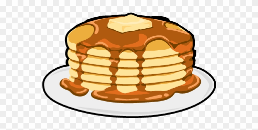 svg library stock Pancake clipart. Transparent background pancakes clip