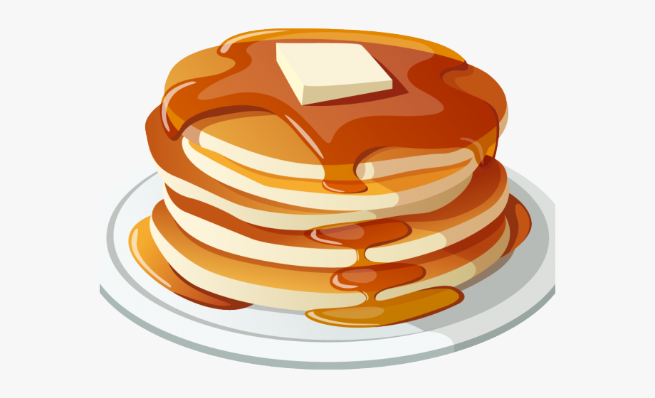 clipart library Transparent bacon png breakfast. Pancake clipart
