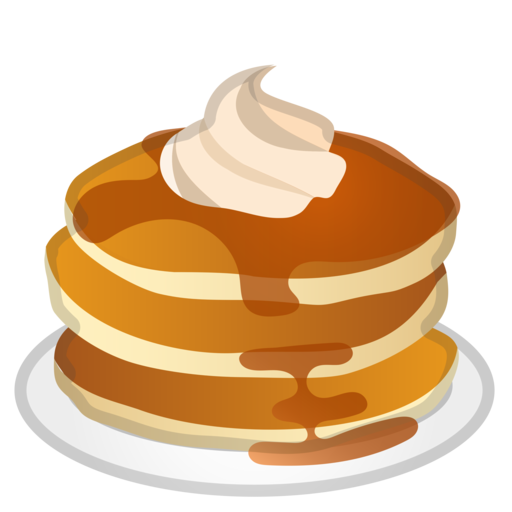 jpg library download Pancake clipart.  collection of no