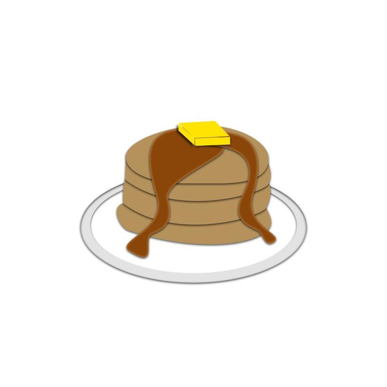 vector freeuse Pancake vector. Clipart clip art cartoon.