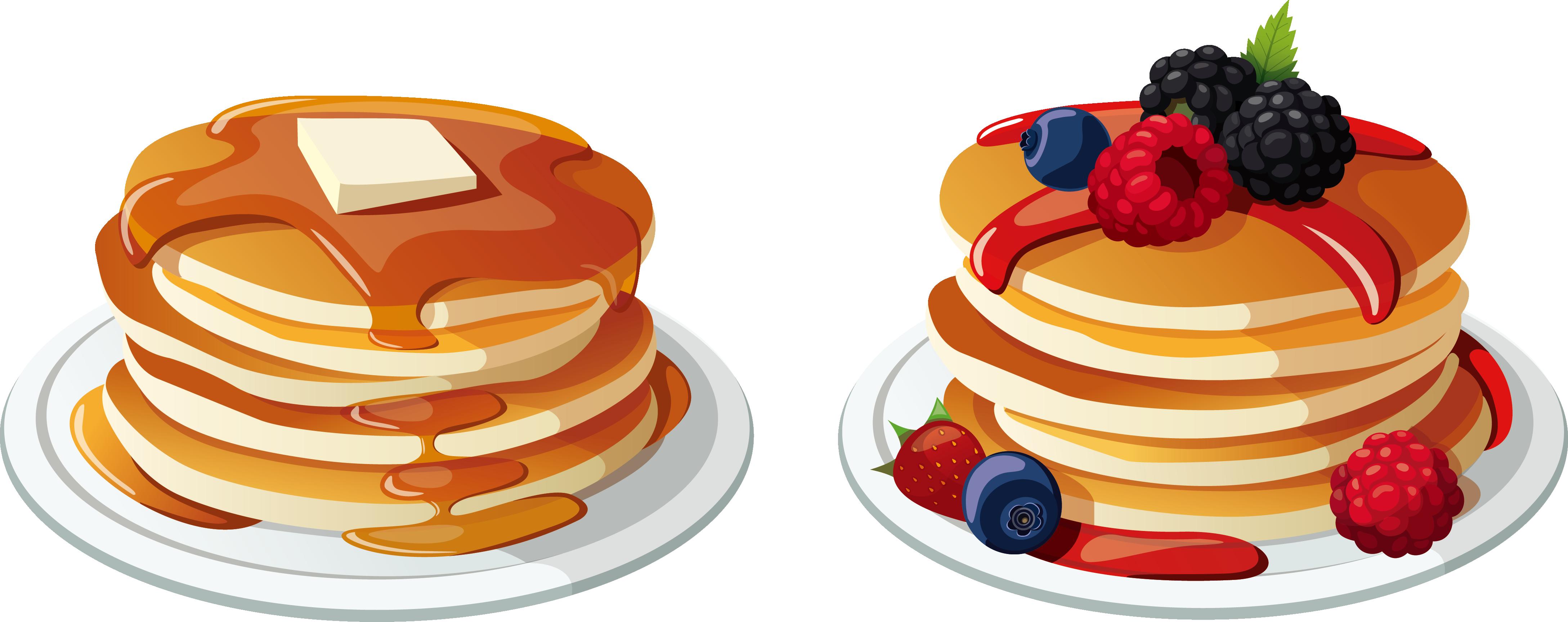 svg freeuse library Pancake vector transparent. Pancakes clipart breakfest frames.