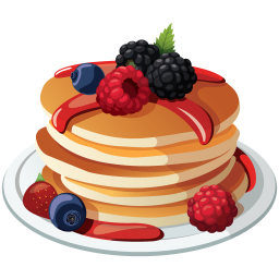 clipart download Pancakes icon myiconfinder. Pancake vector.