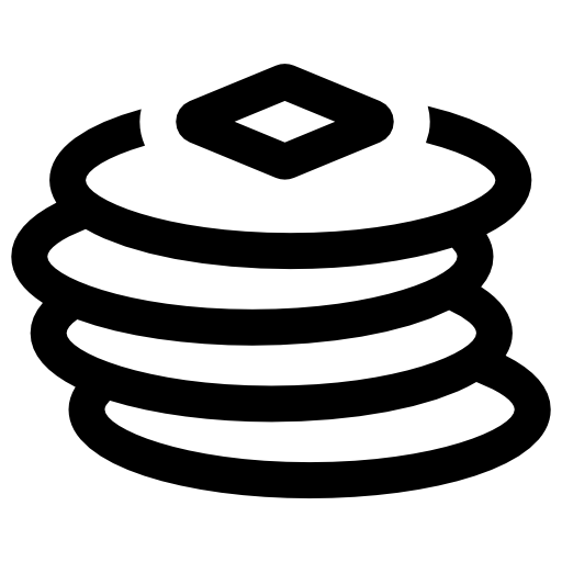 svg free library Pancakes Stack